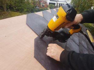 Eco Rubber Tiles install