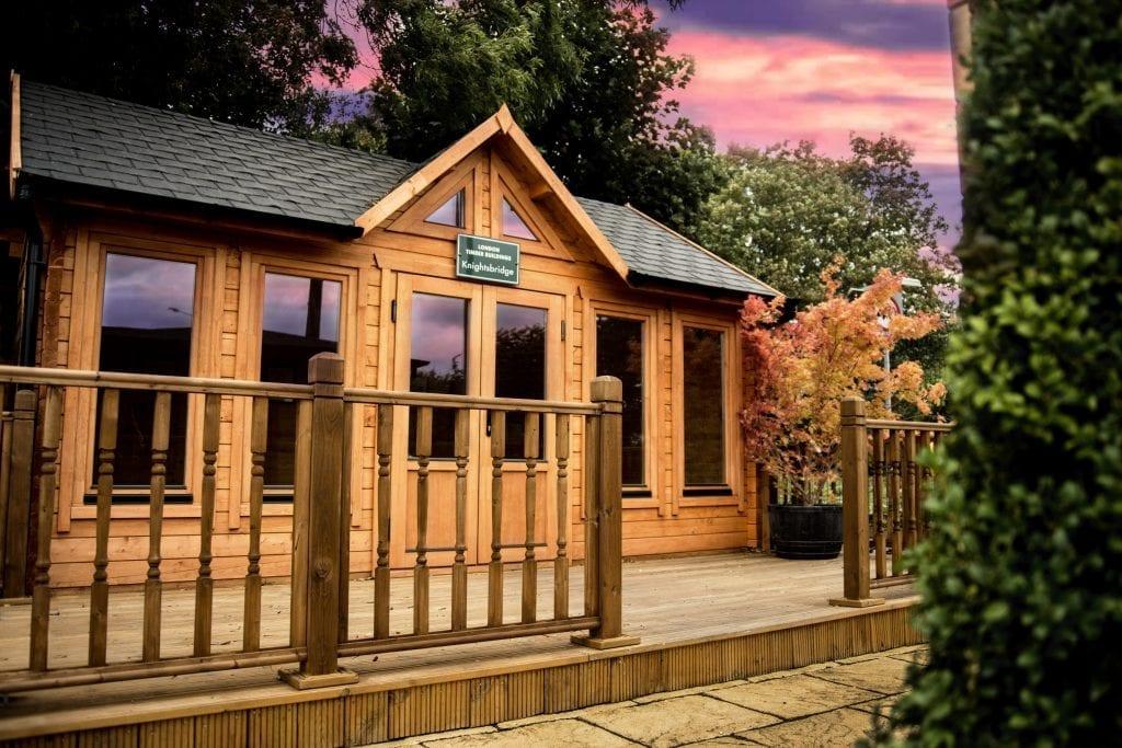 Knightsbridge log cabin