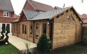 Bespoke Knightsbridge log cabin