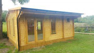 Bespoke Chiswick log cabin