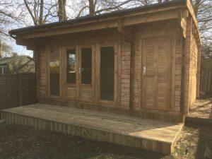 Wembley log cabin WEM038