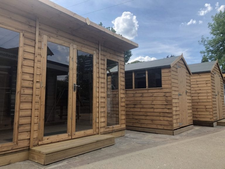 London Timber Buildings Shed Summerhouse display