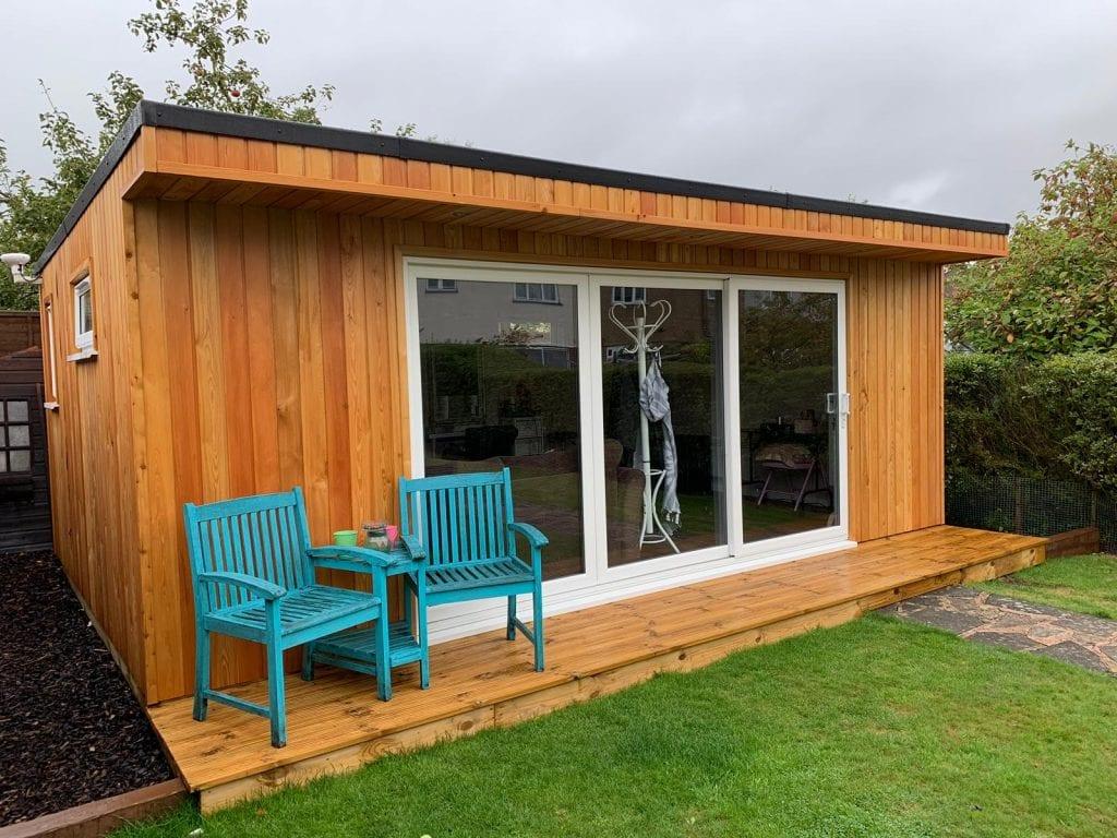 Finsbury garden room 7.5mx4m