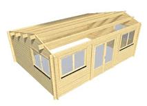 Log Cabin Chiswick range